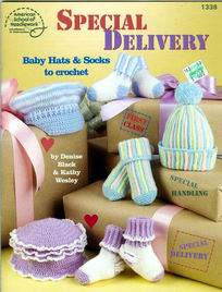 Special Delivery Baby Hats & Socks to Crochet