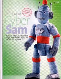 ALAN DART Simply Knitting Pattern CYBER SAM ROBOT