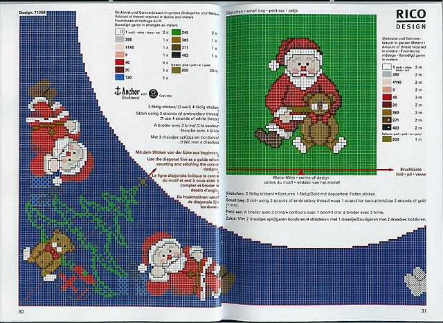 christmas gift for her: counted cross stitch kits