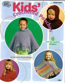 Kids' Crocheted Ponchos