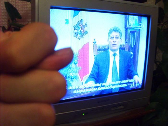 ГИМпу, президент молдовы, новый год в молдове, поздравление президента
