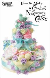 How to Make a Crochet Nappy Cake