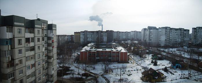 снег в кишиневе,  снег, зима