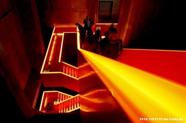 Открытие европейской культурной столицы 2010 года в Рурской области, Эссен, Германия, 9 января 2010 года.