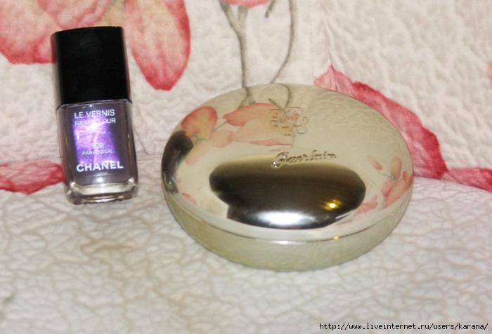Chanel Paradoxal, Guerlain Les Voilettes Mineral