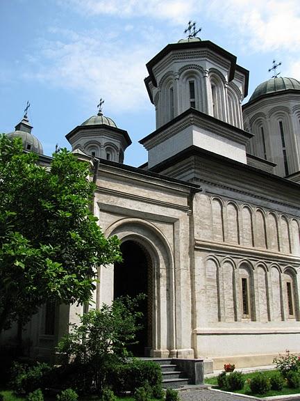 монастырь «Radu Voda»-Бухарест 43545