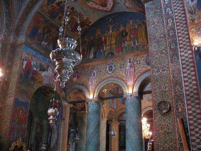 монастырь «Radu Voda»-Бухарест 70411