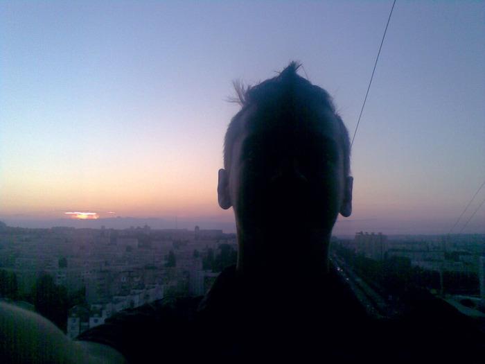 закат солнце, ботаника кишинёв