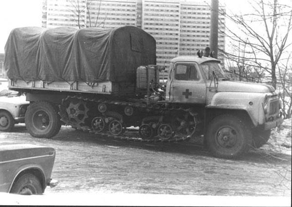 скорая помощь 1970-х годов