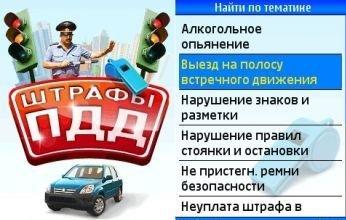 Штраф за парковку в неположенном месте 2013, Штрафы 03 по фамилии, Штрафы гаи 86 регион
