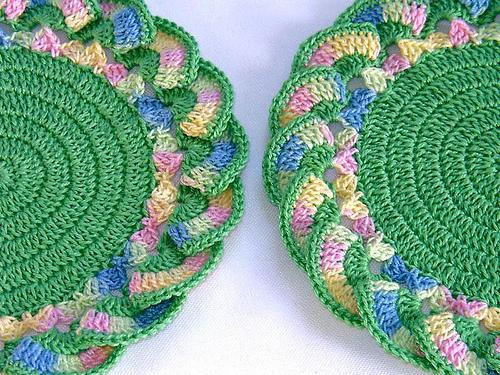 цветные салфетки - Самое