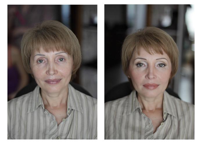 Как с помощью макияжа сделать себя моложе