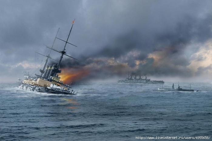 картина - 110 лет со дня начала Русско-японской войны (700x466, 179Kb)