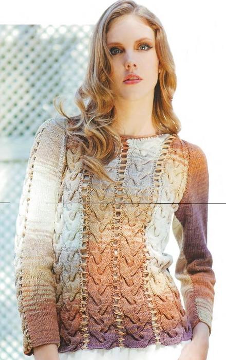 Пуловер Из Полос С Доставкой