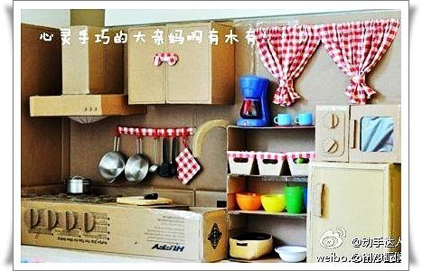Как своими руками сделать кухню для кукол