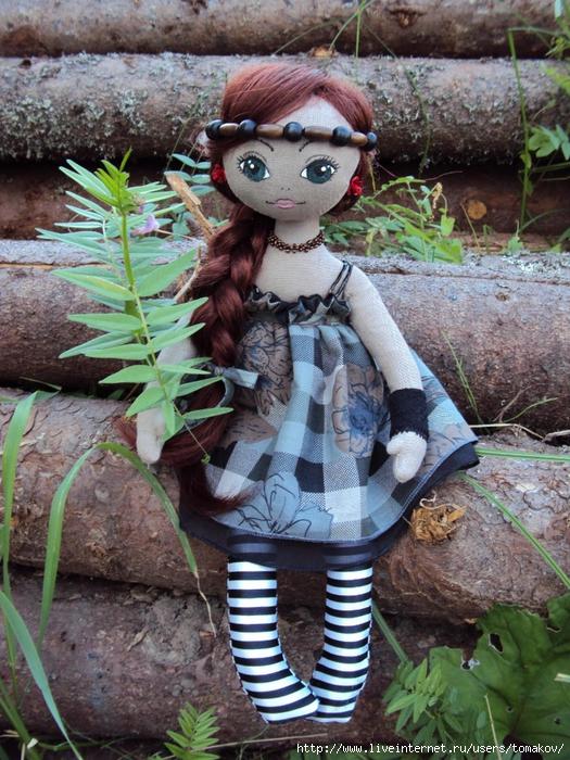 Изготовление текстильных кукол своими руками мастер класс