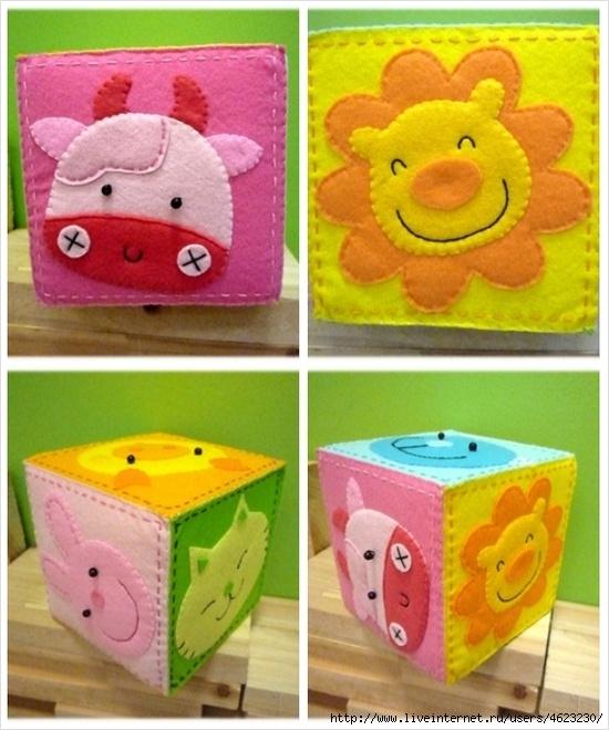 Кубик для новорожденных своими руками 95