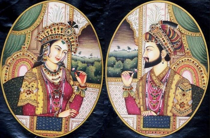 Emperor_Shah_Jahan_and_Mumtaz_Mahal (700x462, 136Kb)