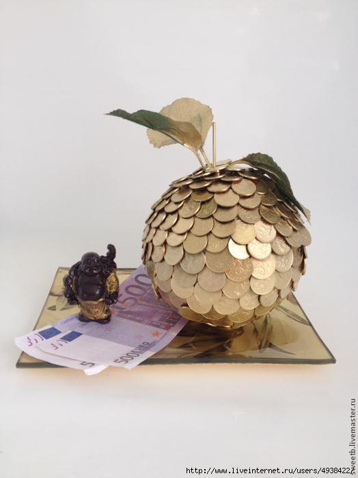 Денежное дерево фото своими руками монеты