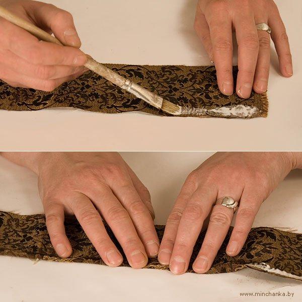 Браслеты, декорированные тканью, в технике папье-маше (4) (600x600, 252Kb)