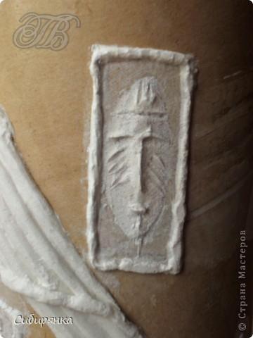 Напольные вазы из шпулек от линолеума (9) (360x480, 109Kb)