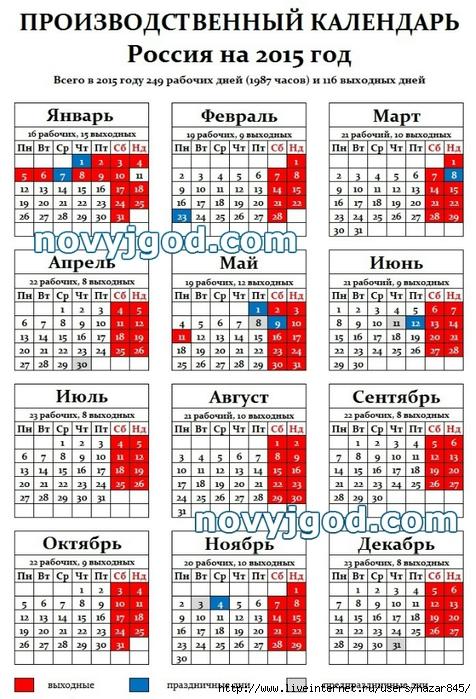 Графики дежурства ответственных лиц в праздничные и выходные дни