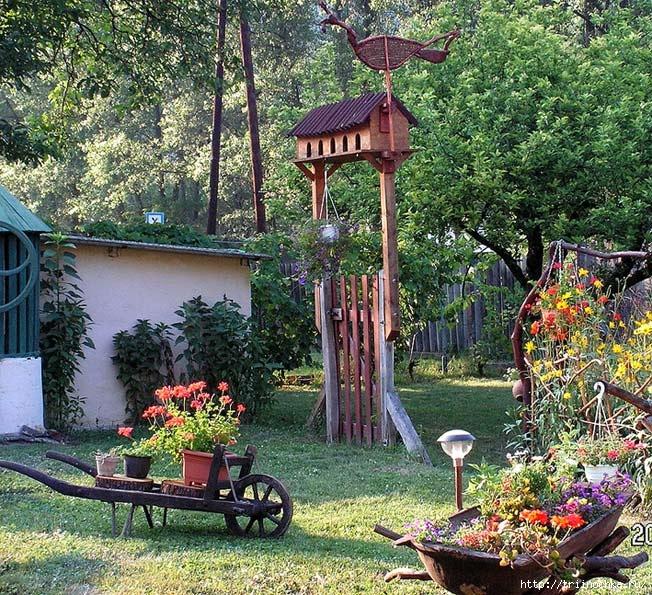 Красивый сад без затрат