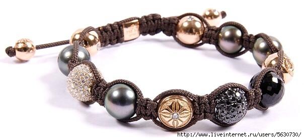 Модный браслет-шамбала своими
