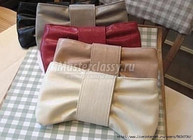 Маленькие сумочки своими руками из кожи