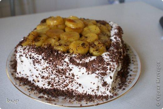 Шоколадно-банановый торт (1) (520x348, 156Kb)