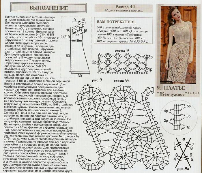 Вязание крючок схемы модели