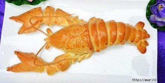 Мастер-класс по выпечке омаров-раков
