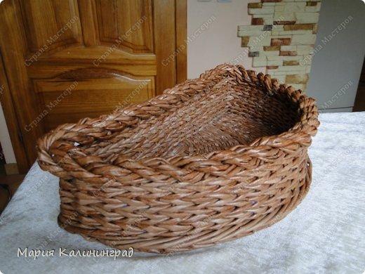 Красивая загибка для плетенок из газетных трубочек. Мастер-класс (7) (520x390, 180Kb)