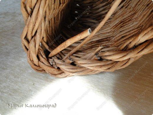 Красивая загибка для плетенок из газетных трубочек. Мастер-класс (30) (520x390, 156Kb)