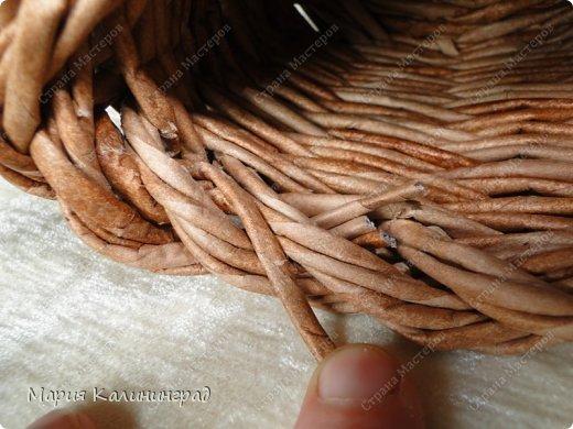Красивая загибка для плетенок из газетных трубочек. Мастер-класс (32) (520x390, 184Kb)