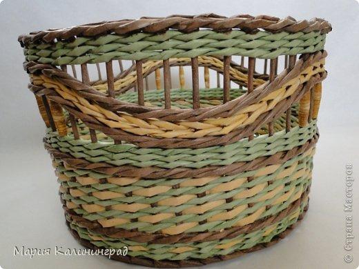 Очень красивые плетенки из газет от Марии Калининград (17) (520x390, 183Kb)