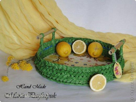 Очень красивые плетенки из газет от Марии Калининград (24) (520x390, 152Kb)