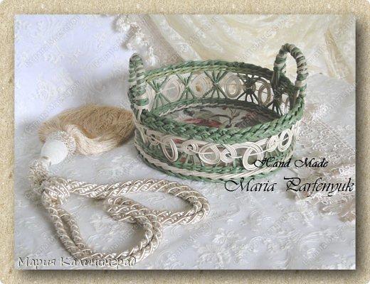 Очень красивые плетенки из газет от Марии Калининград (29) (520x400, 182Kb)