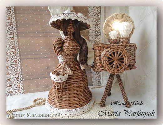 Очень красивые плетенки из газет от Марии Калининград (33) (520x400, 203Kb)