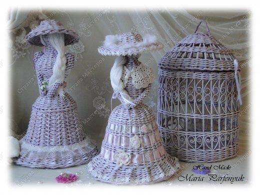 Очень красивые плетенки из газет от Марии Калининград (104) (520x391, 170Kb)