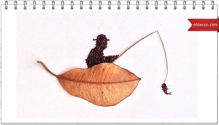 Кофейные рисунки Liv Buranday