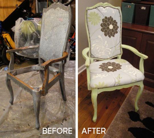 Обновить старые кресла своими руками 59