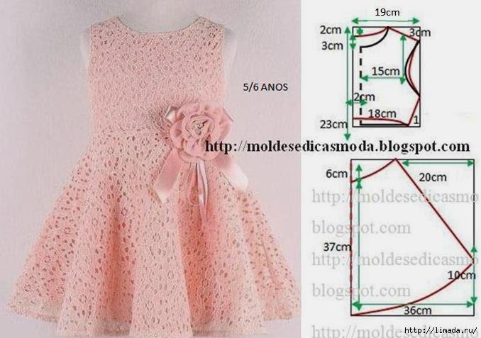 Детские платья для девочек нарядные своими руками выкройки