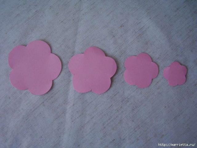 Для творчества с детьми. Ваза с цветами из бумаги (1) (640x480, 126Kb)