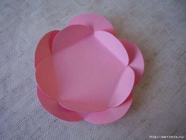 Для творчества с детьми. Ваза с цветами из бумаги (3) (640x480, 129Kb)