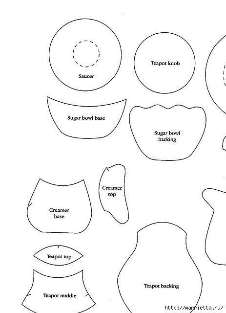 Пэчворк. Лоскутное панно для кухни (4) (463x640, 79Kb)