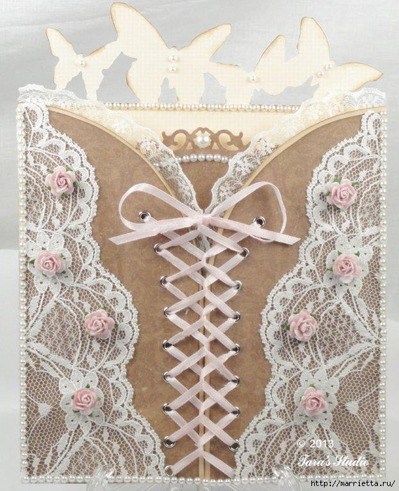 Бумажный хендмейд. Очень красивые работы от Craft Studio (30) (569x700, 350Kb)