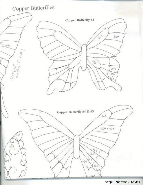 Бабочки из пластиковой бутылки (4) (494x640, 118Kb)