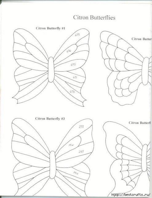 Бабочки из пластиковой бутылки (6) (494x640, 118Kb)