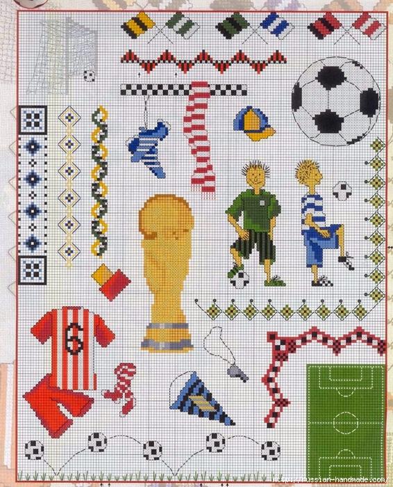 Детская вышивка. ФУТБОЛИСТЫ (2) (566x700, 422Kb)